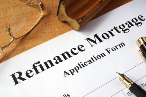 Refinance mortgage application form