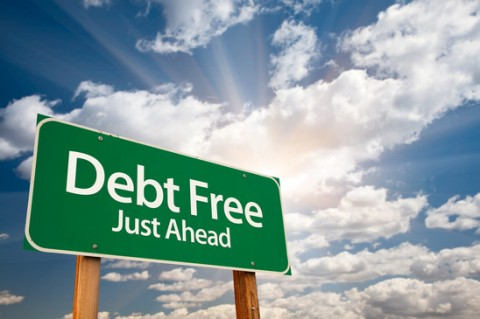 Debt free just ahead